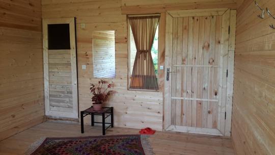 کلبه چوبی بلوط ماسال، کلبه یکم