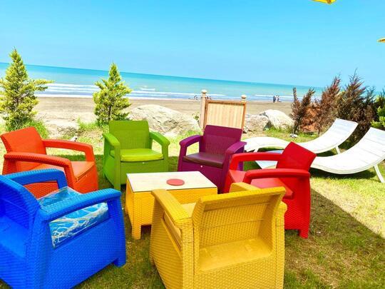 ویلا ساحلی سه خوابه دوبلکس استخردار