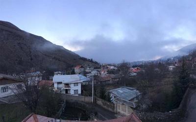 آپارتمان کوهستانی دوخواب با چشم انداز کوه