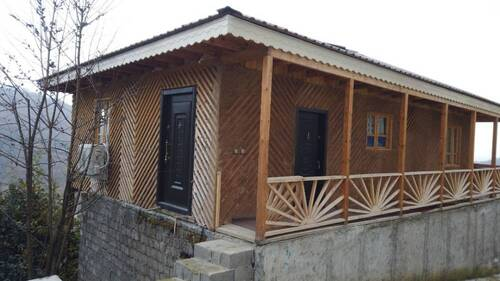 ویلا چوبی دو خواب  تیته دهکده توریستی اربکله