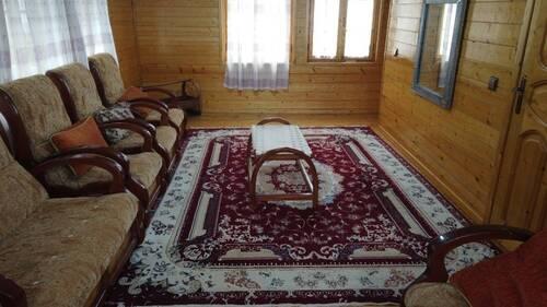 کلبه چوبی سنتی دوبلکس (سفید تمشک )