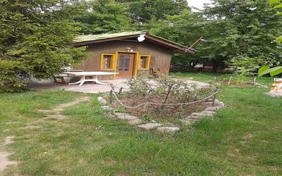 کلبه چوبی جم کلاردشت(3)