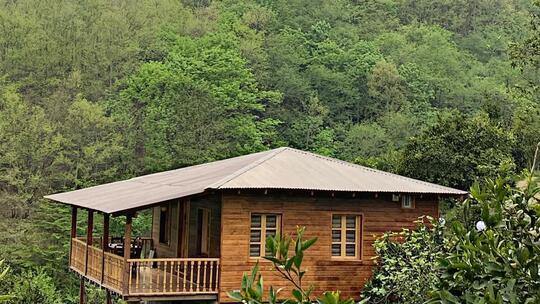 کلبه چوبی دهلی رامسر