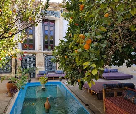 عمارت قاجاریه سه دری کنج (شیراز)